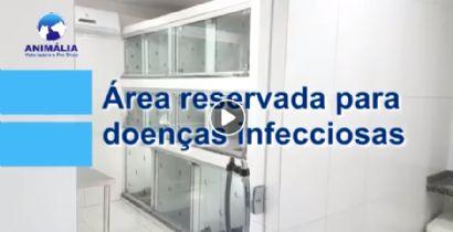 ÁREA RESERVADA PARA DOENÇAS INFECCIOSAS